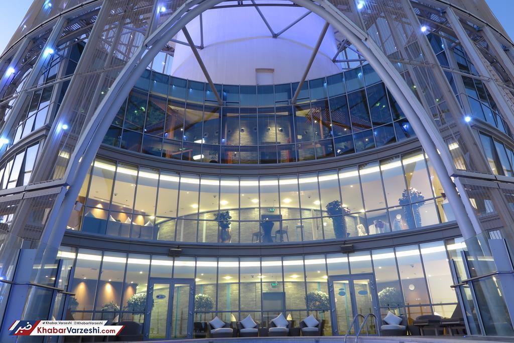 عکس| پرسپولیسی ها ساکن یکی از شیک ترین هتل های دنیا!