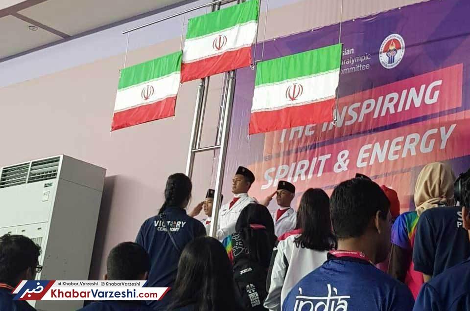 طلا، نقره و برنز پرتاب نیزه به ایران رسید