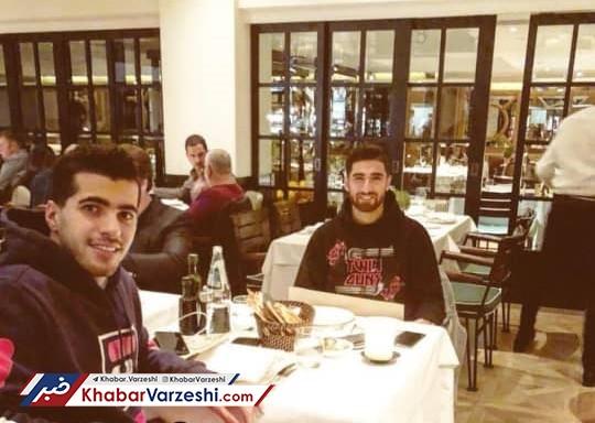 عکس| دیدار لژیونر های ایرانی در انگلیس به صرف شام