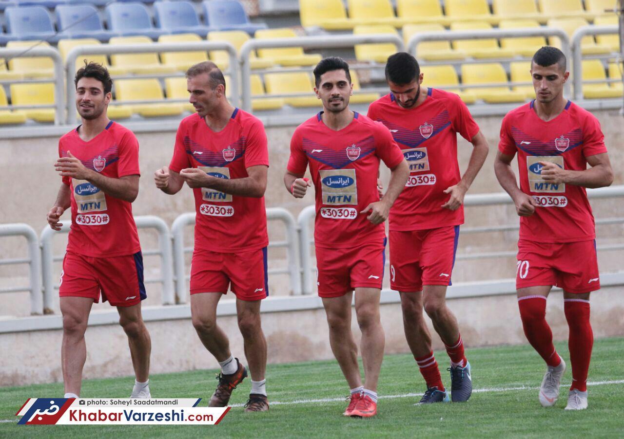 گزارش تصویری  ریکاوری پرسپولیسیها بعداز برد دلچسب در لیگ