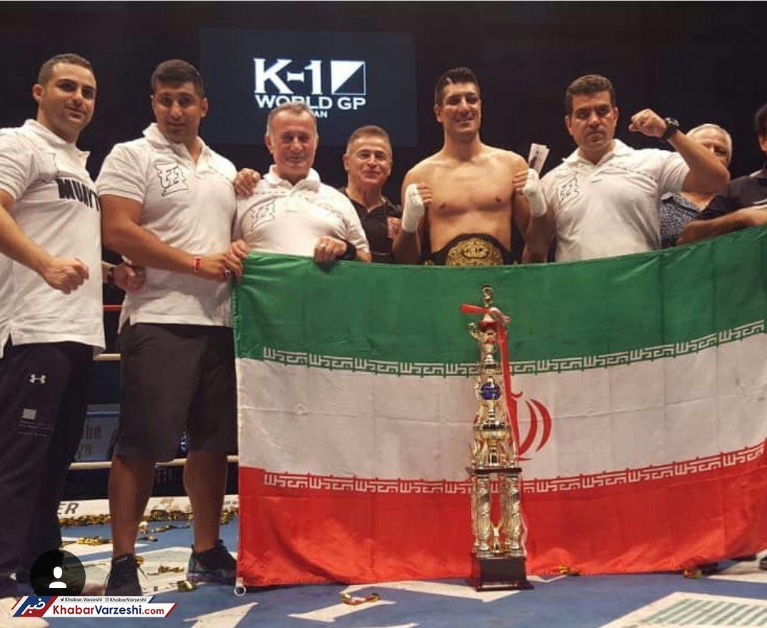 درخشش یک ایرانی در مسابقات جهانی کیکبوکسینگ