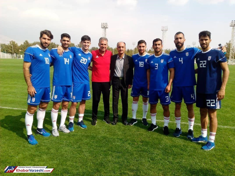 عکس| دیدار مربی پیشین تیمهای ملی و کیروش