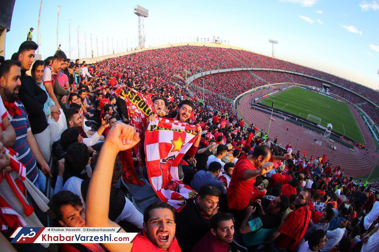 گزارش تصویری  حواشی قبل از بازی پرسپولیس السد در ورزشگاه آزادی