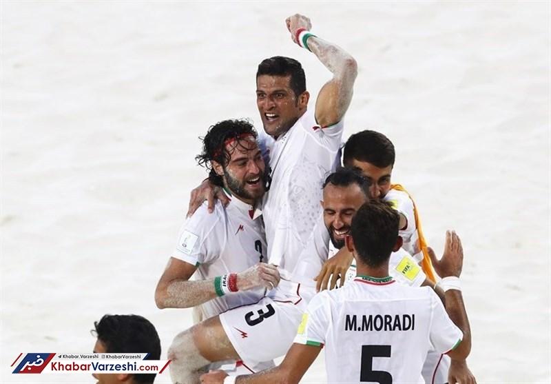 صعود قدرتمندانه فوتبال ساحلی ایران به فینال