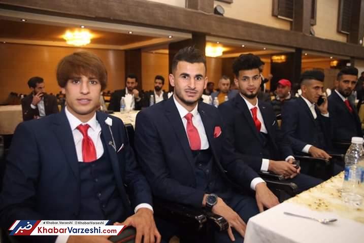 تصاویر| ضیافت رقیب ایران برای حضور در جام ملتها