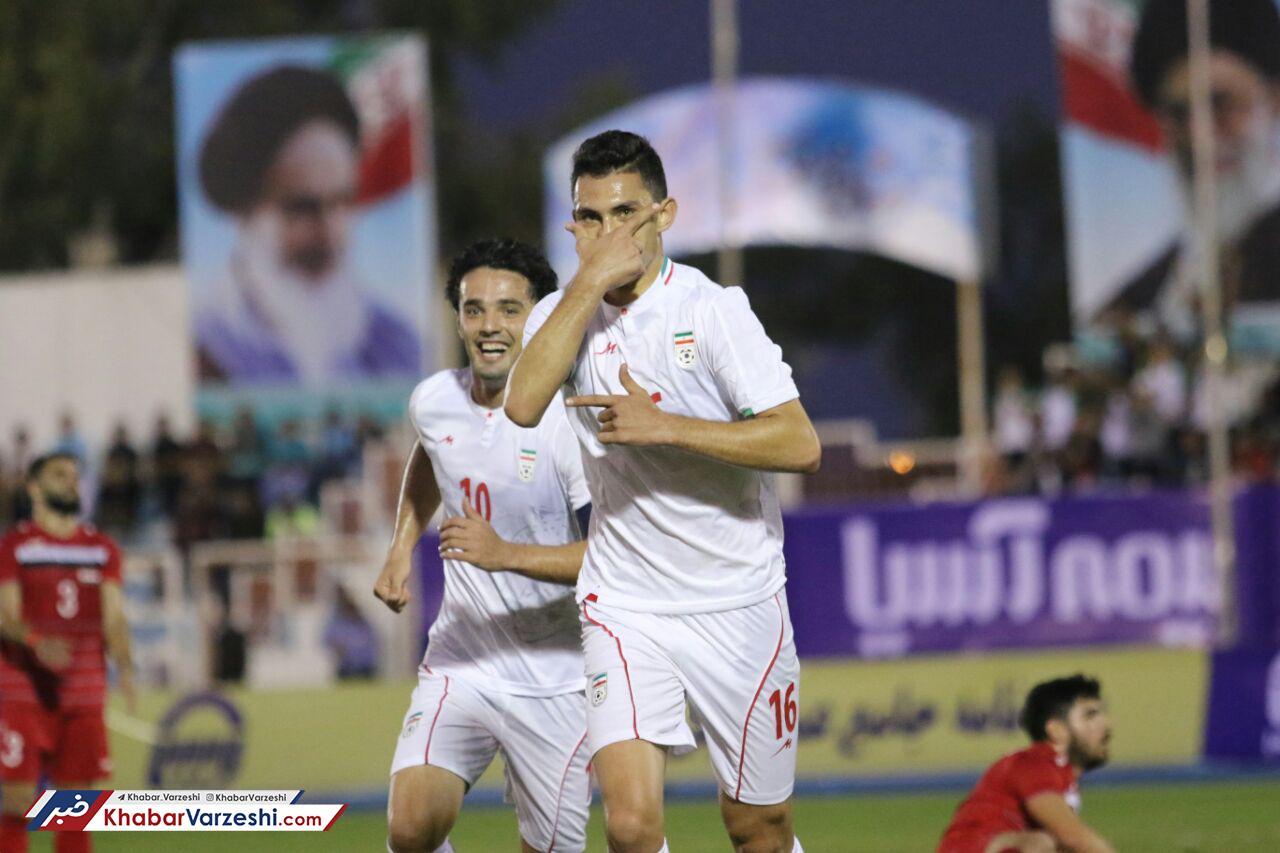 گزارش تصویری| پیروزی امیدهای ایران در اولین دیدار دوستانه مقابل سوریه