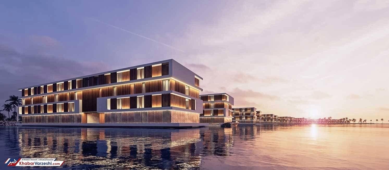 عکس  هتلهای شناور میزبان جامجهانی 2022