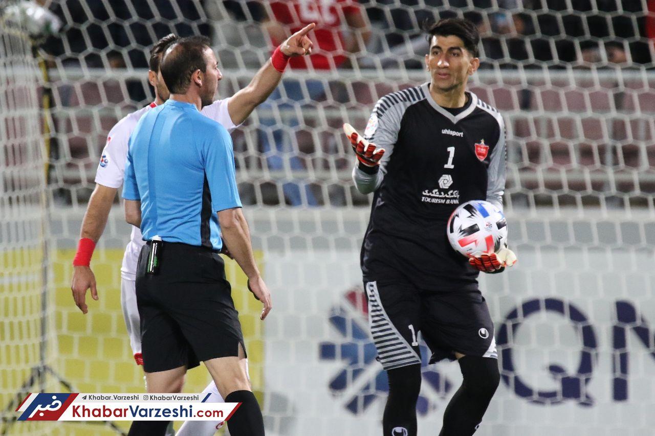 بیرانوند: نه افت کردم، نه در باد جام جهانی خوابیدم