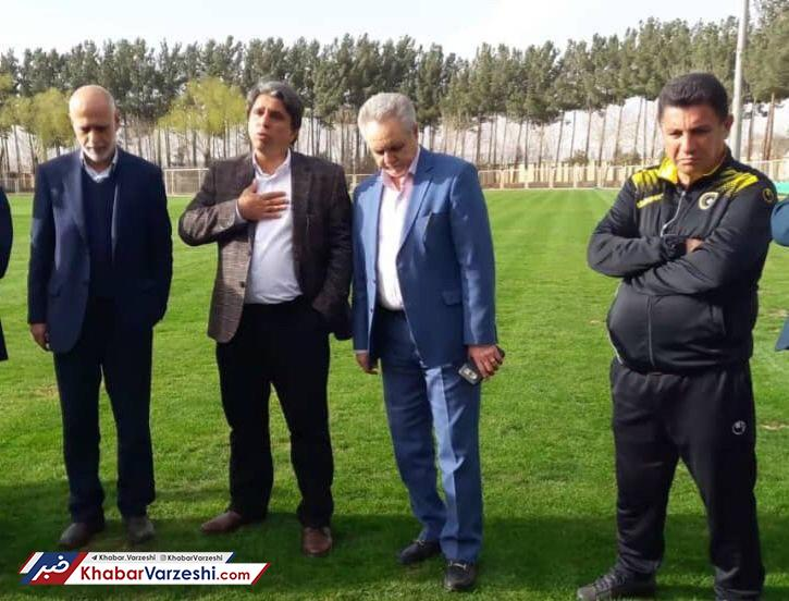 تصاویر| ملاقات اعضای جدید هیئت مدیره سپاهان با قلعه نویی