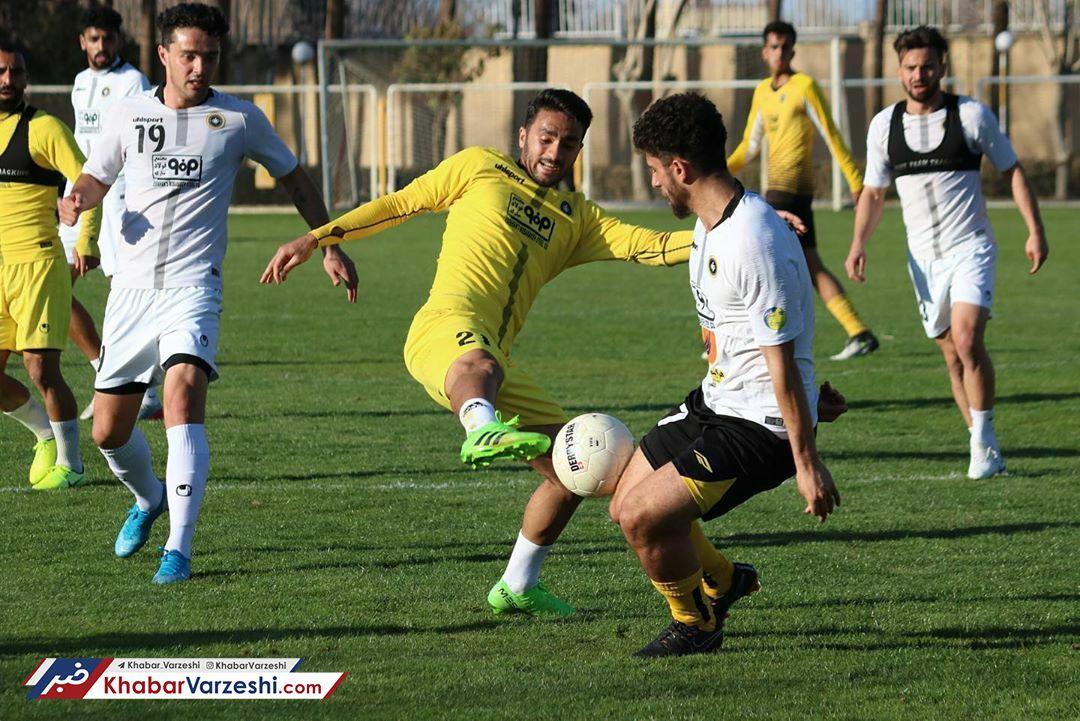 گزارش تصویری  تمرین سبک قلعه نویی برای بازیکنان سپاهان
