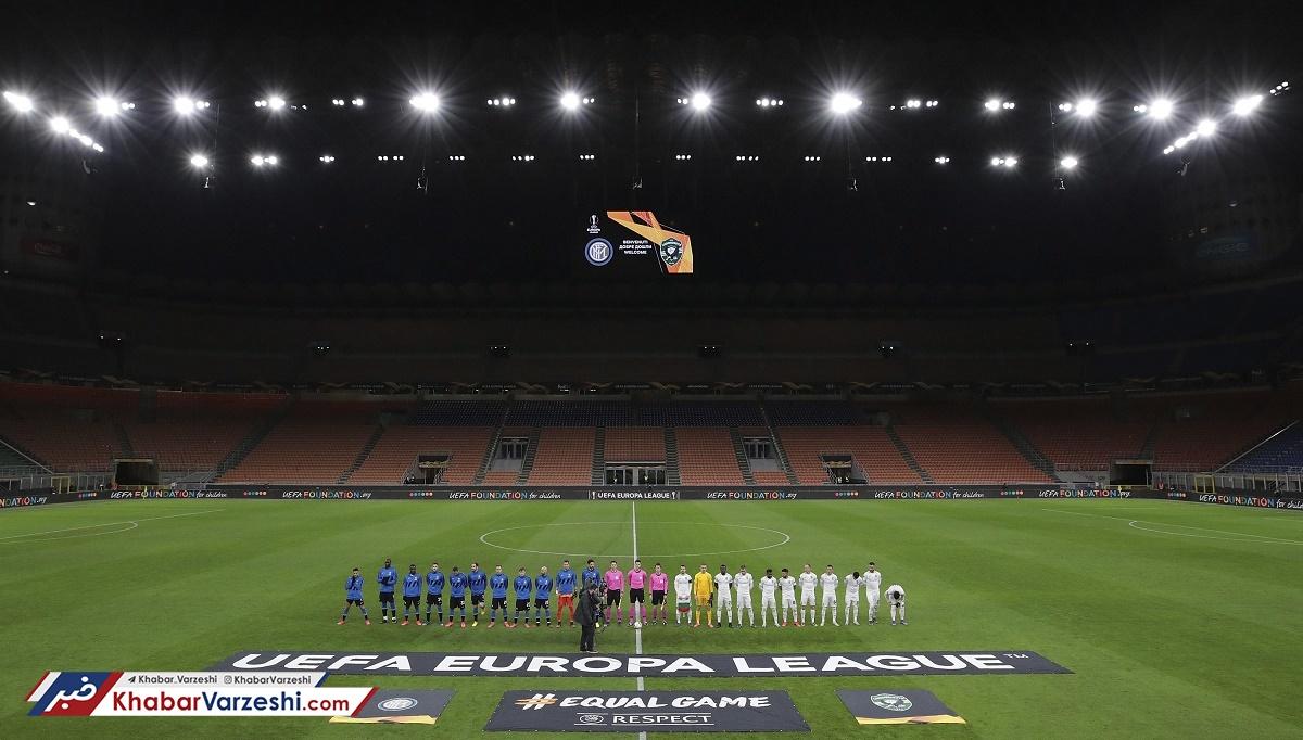 دور رفت مرحله یکهشتم نهایی لیگ اروپا؛ اگر کرونا بگذارد...