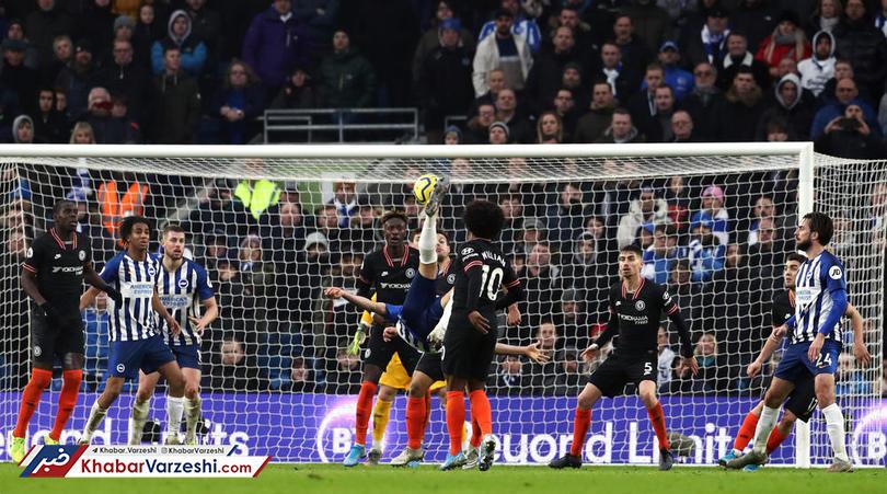 گل جهانبخش سومین گل برتر فصل جاری لیگ برتر