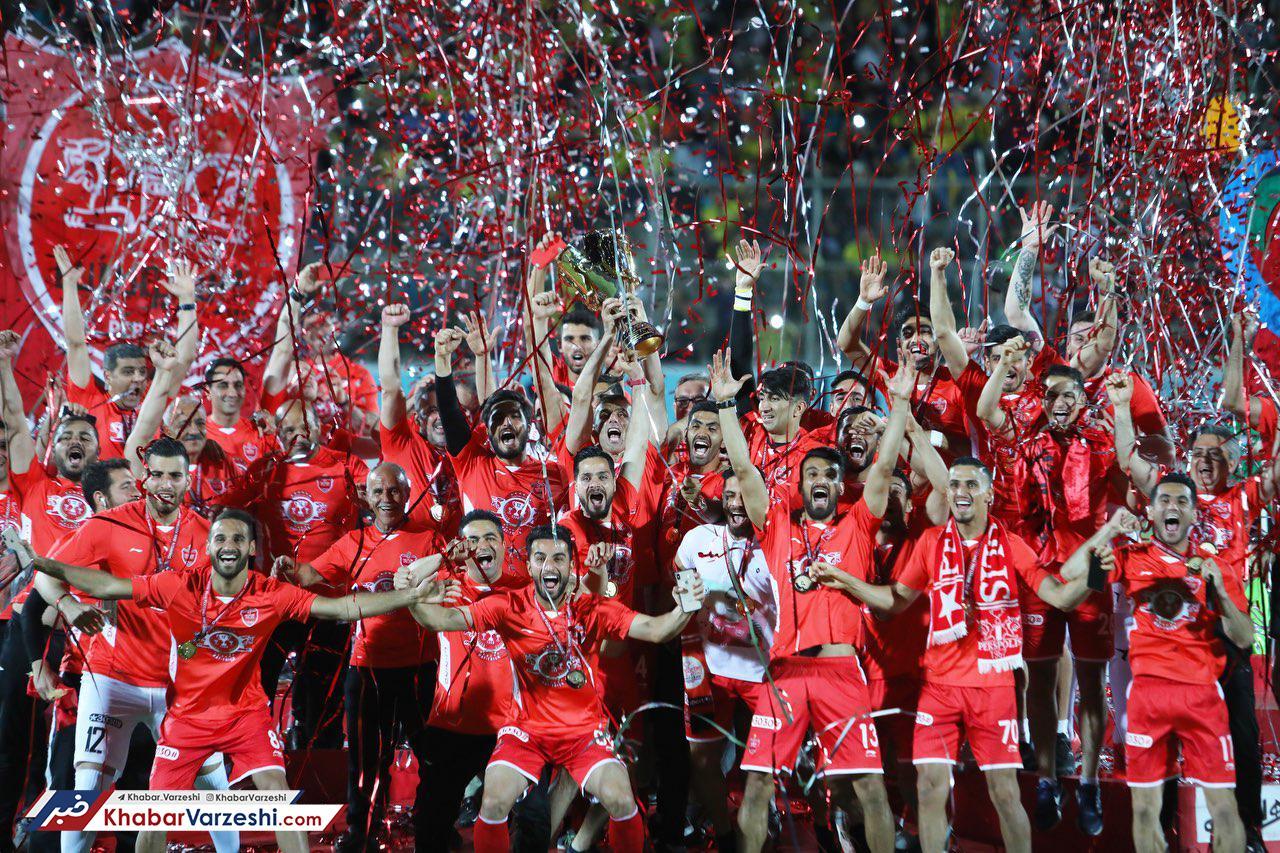 گزارش تصویری| سومین جشن قهرمانی پرسپولیس با برانکو