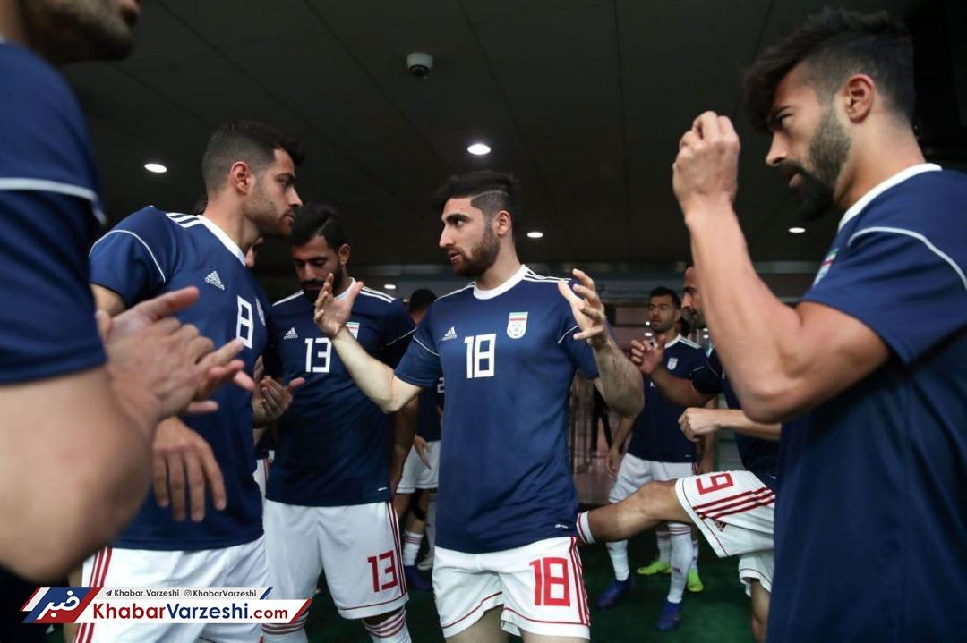 عکس| ملی پوشان آماده بازی با کره جنوبی