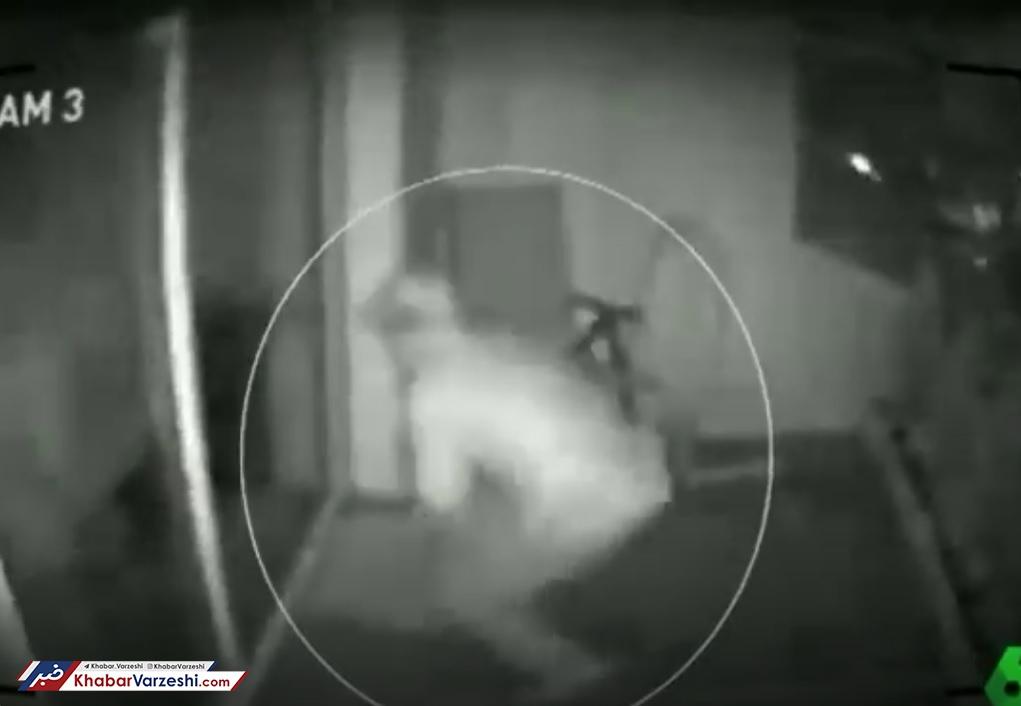 عکس| منزل زیدان و ایسکو مورد عنایت دزد قرار گرفت!