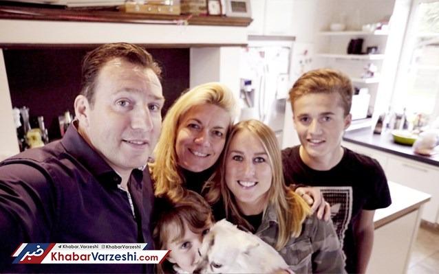 مارک ویلموتس و خانواده