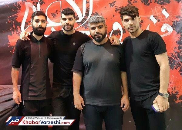 تصاویر  آقای گل پیشین پرسپولیس در بوشهر