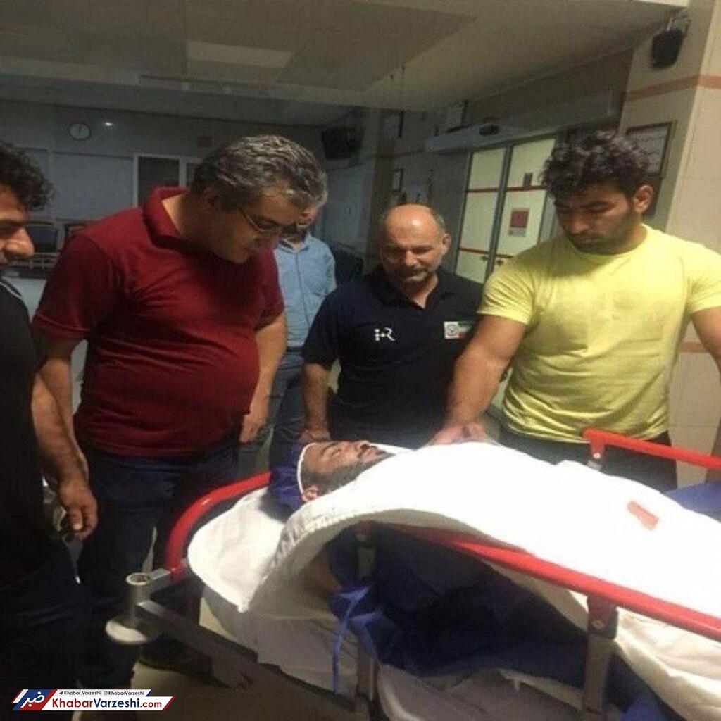 عکس  خبر بد از اردوی تیم ملی وزنهبرداری