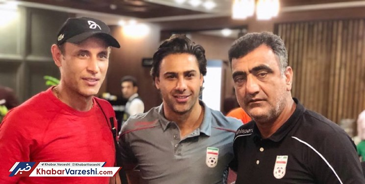 عکس| دیدار یحیی و فرهاد در هتل المپیک