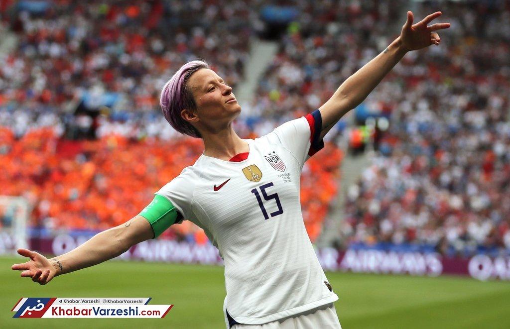 ماجرای چالش کاپیتان تیم ملی فوتبال زنان آمریکا و ترامپ