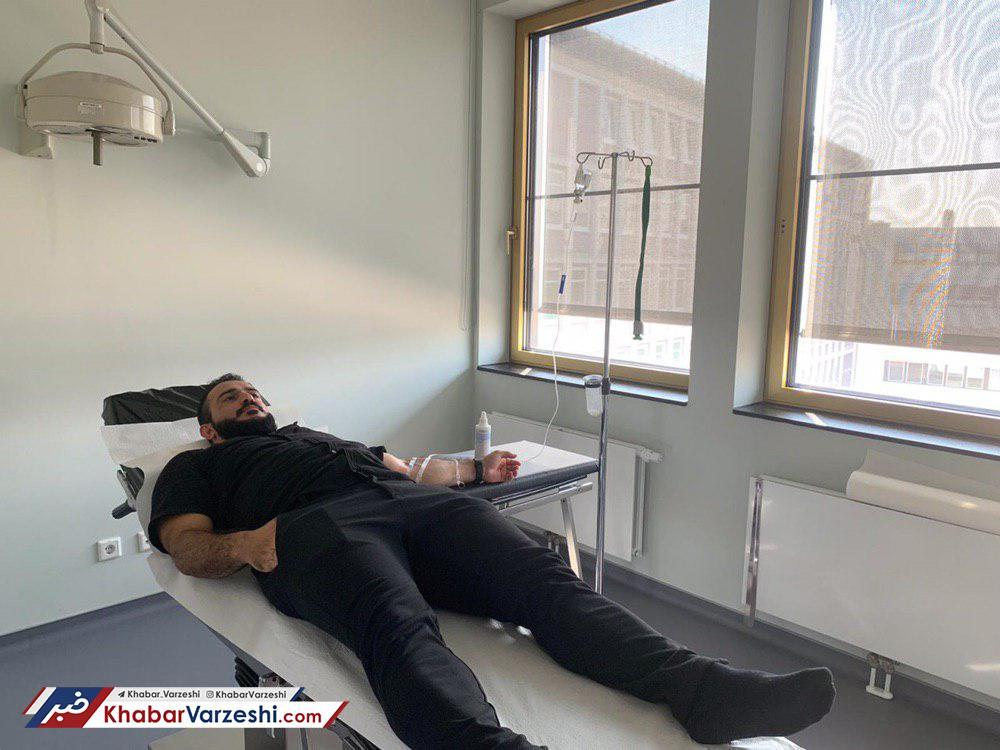 عکس| آغاز درمان سهراب در آلمان