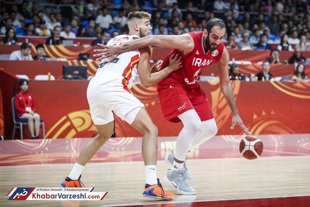 برنامه بازیهای ایران در دور دوم جام جهانی بسکتبال