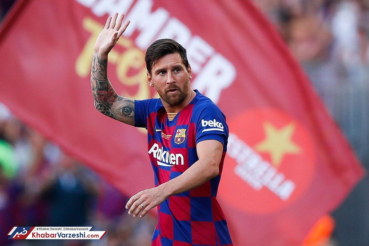 مسی میتواند بارسلونا را ترک کند، اما نه به هر مقصدی!