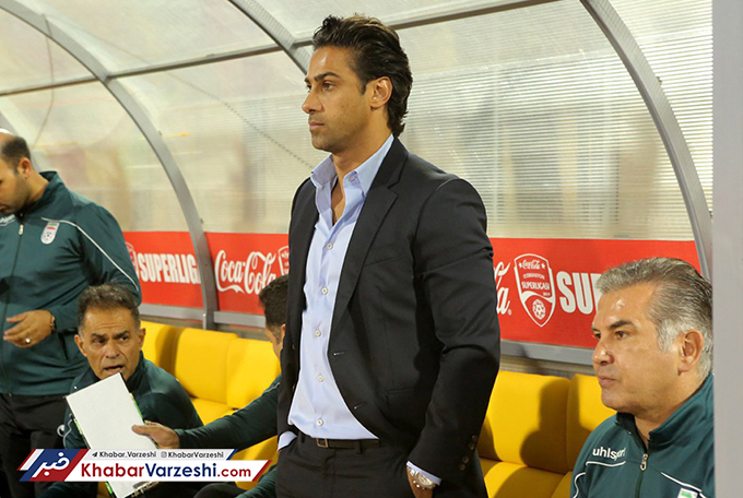 Iran U23 football coach Farhad Majidi