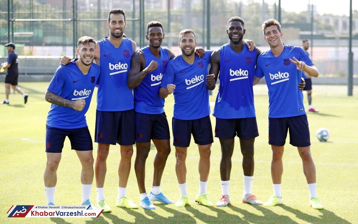 دردسرهای والورده برای انتخاب ترکیب بارسلونا