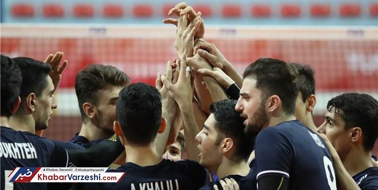 تیم ملی والیبال نوجوانان ایران صعود کرد