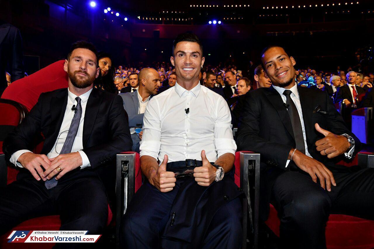 گزارش تصویری| مراسم قرعه کشی لیگ قهرمانان اروپا و معرفی مرد سال فوتبال اروپا