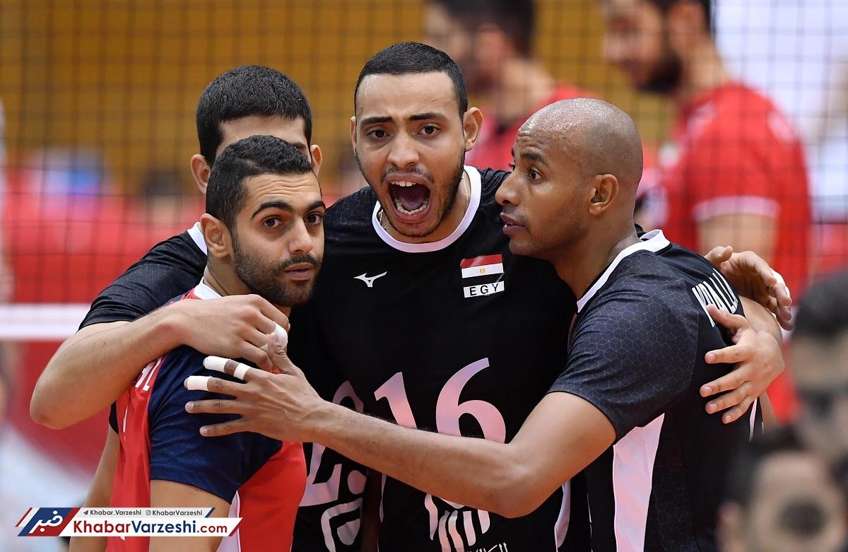 شکست عجیب تیم ملی والیبال در دومین گام برابر مصر