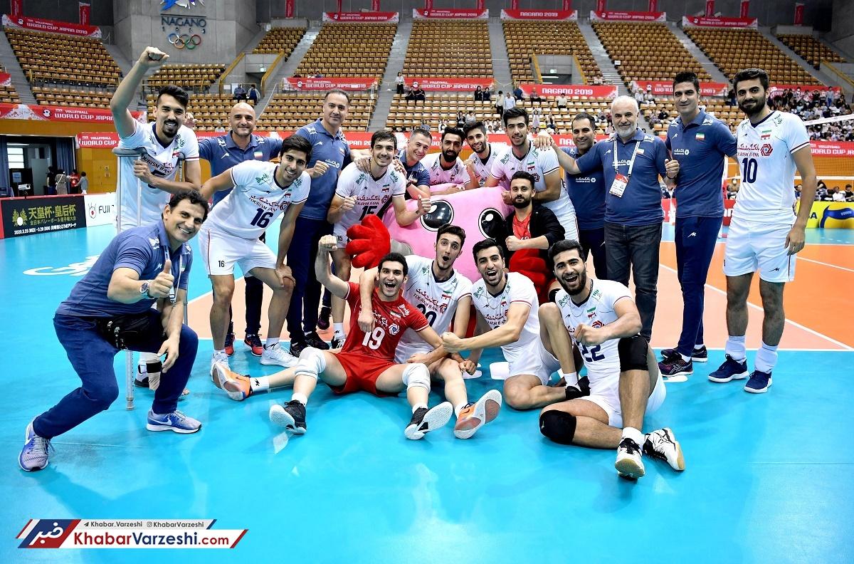 سروقامتان ایران به اولین پیروزیشان در جامجهانی رسیدند