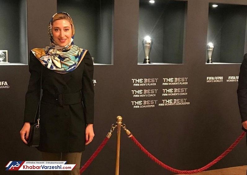 عکس| حضور ۲ ایرانی در مراسم بهترینهای فیفا