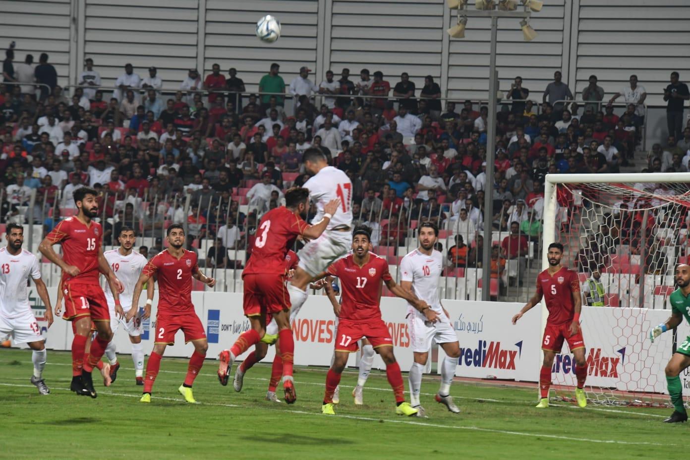 قدردانی عجیب وزیر ورزش بحرین از تماشاگران