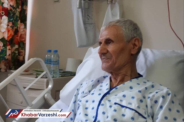 انتقال سرمربی اسبق تیم ملی ایران به بیمارستان