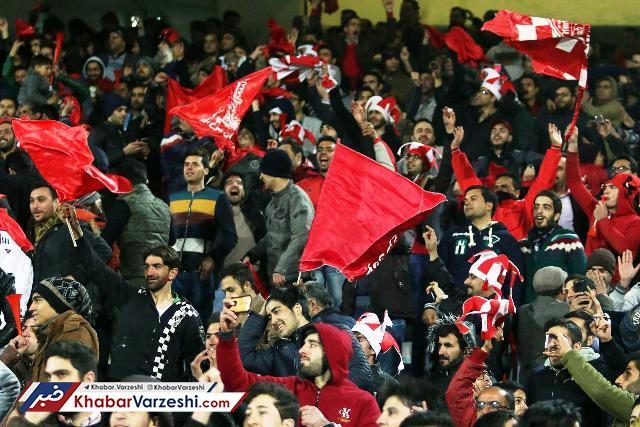 بوشهر به خاطر پرسپولیس سرخ پوش شد
