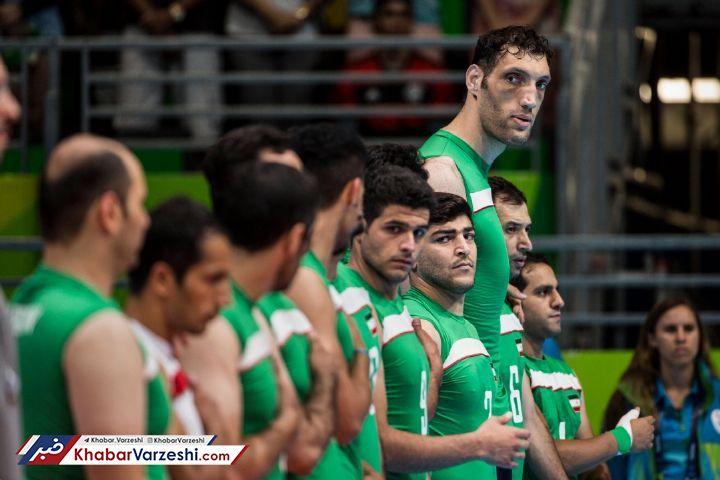والیبال نشسته ایران همچنان بر بام جهان