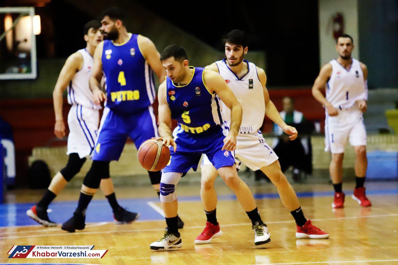 پیروزی مدعیان در هفته اول لیگ بسکتبال