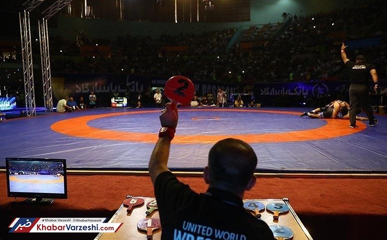 ایران در انتظار دریافت جام کشتی آزاد جهان از آمریکا