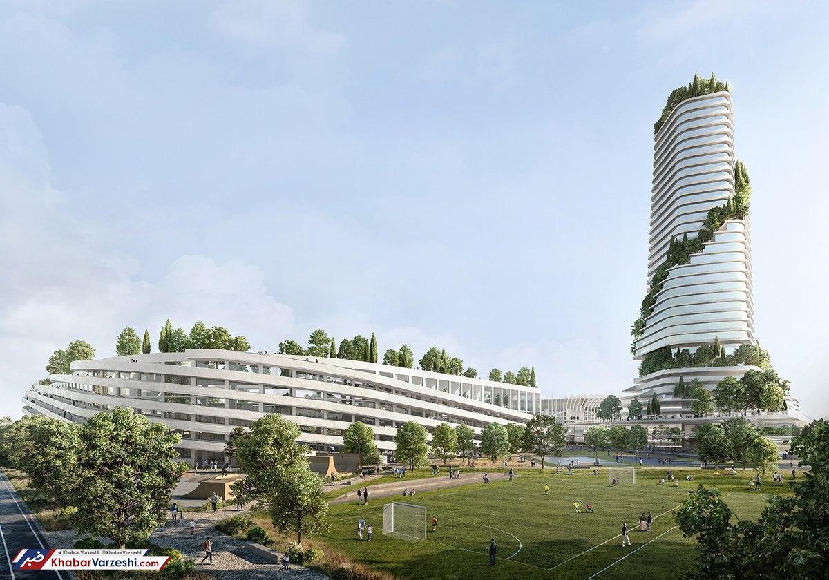 تصاویر  رونمایی از ورزشگاه جدید میلانیها