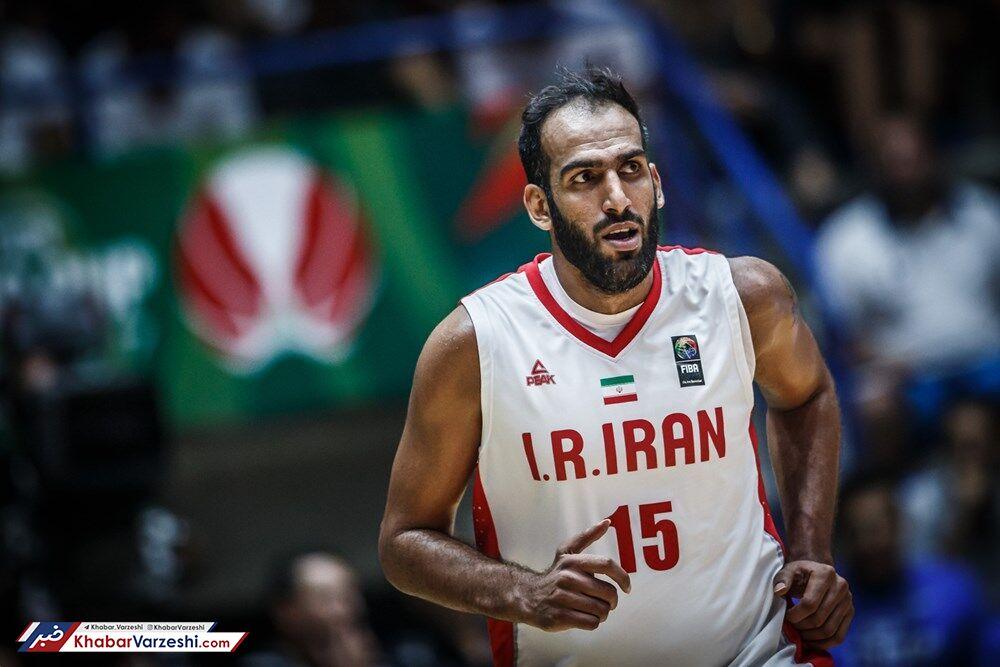 ستاره بسکتبال ایران در تیم منتخب آسیا