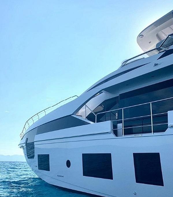 عکس| قایق تفریحی 6 میلیون یورویی کریس رونالدو