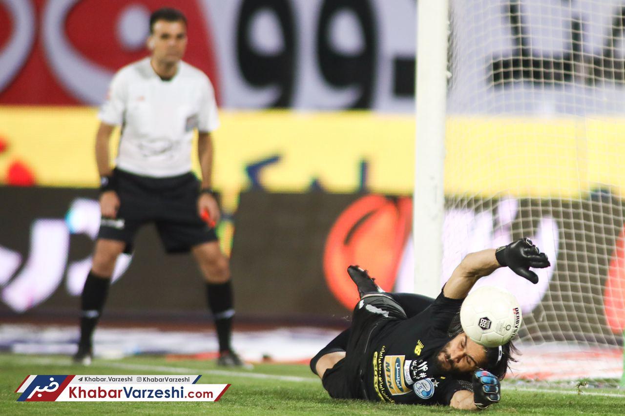 عکس| اشک سید پس از پیروزی