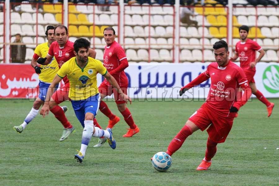 گزارش تصويری| سپیدرود رشت 2  - 1 اکسین البرز