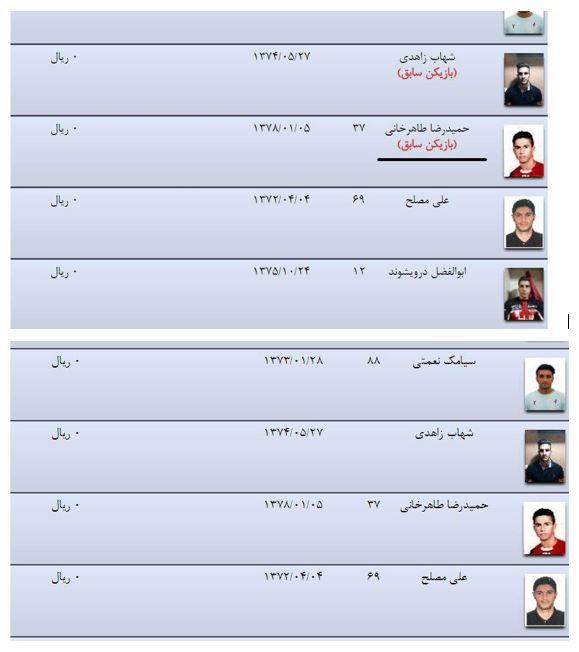 سازمان لیگ اشتباه خود را تصحیح کرد + سند