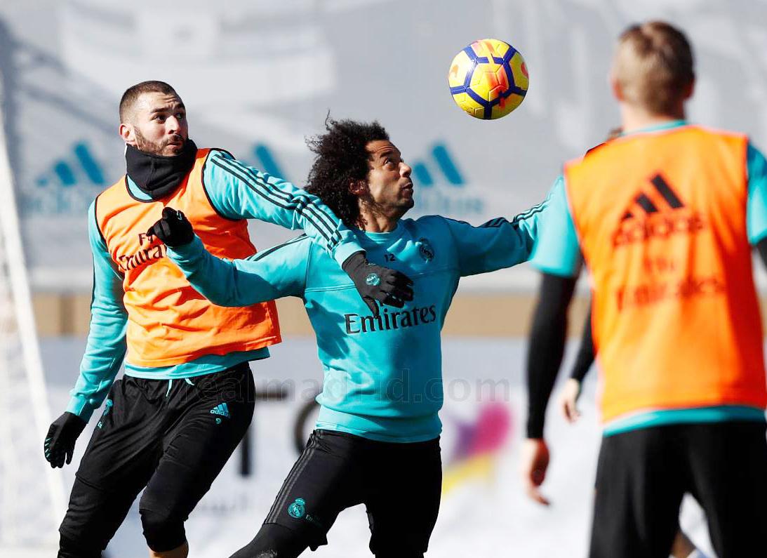 گزارش تصویری| تمرین رئال مادرید