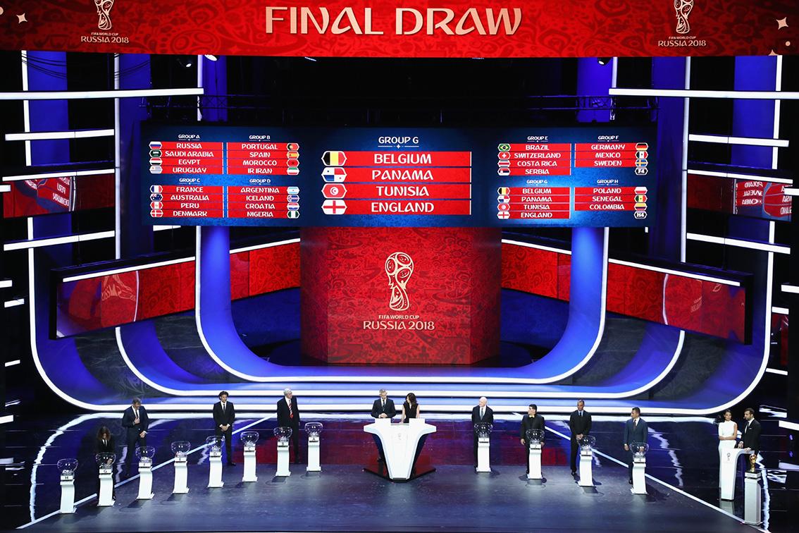 گزارش تصویری|مراسم قرعه کشی جام جهانی 2018 روسیه