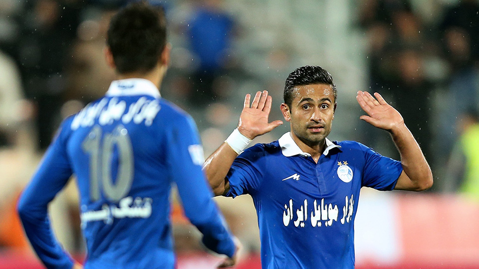 عصبانیت شدید امید ابراهیمی در امارات