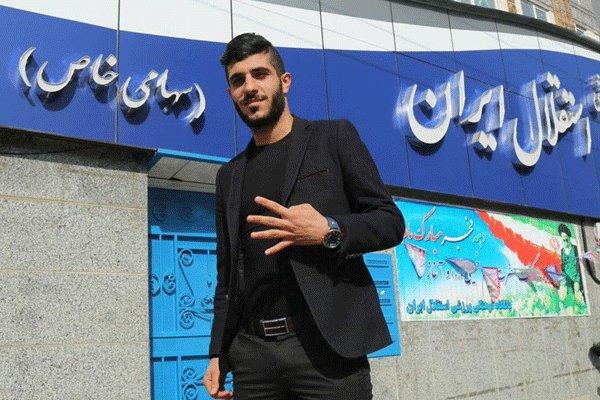 برزای:گفتم در ايران يا استقلال يا هيچ تيمی